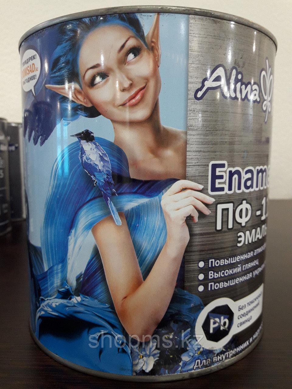 Эмаль ПФ-115 Alina Paint Enamela *2,7 кг белая