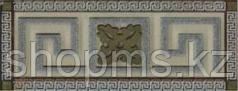 Керамическая плитка PiezaROSA Шампань вставка корич. стекло 394862 (12,6*5,3)
