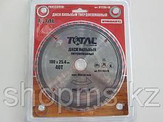 Диск пильный TOTAL TOOLS 185*25,4(60Т)