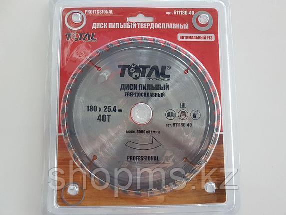 Диск пильный TOTAL TOOLS 185*25,4(60Т), фото 2