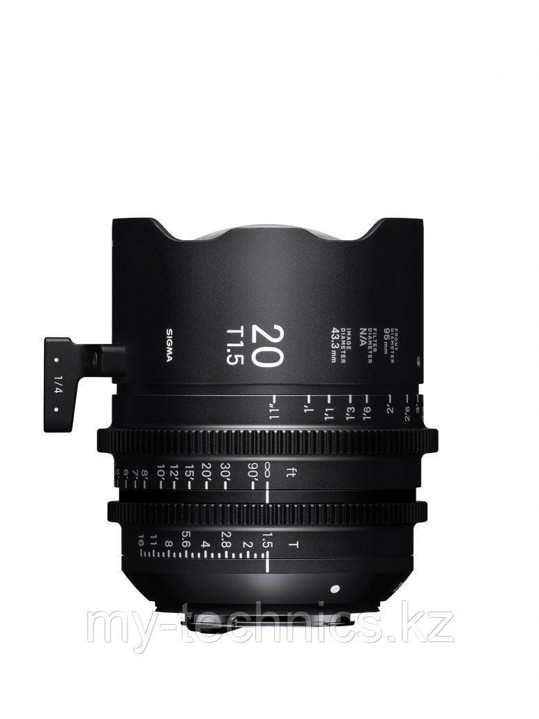Sigma 20mm T1.5 Fully Luminous FF(FLM)
