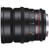 Объектив Samyang MF 24mm f/1.5 VDSLR Canon