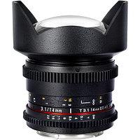Объектив Samyang MF 14mm f/3.1 VDSLR Canon