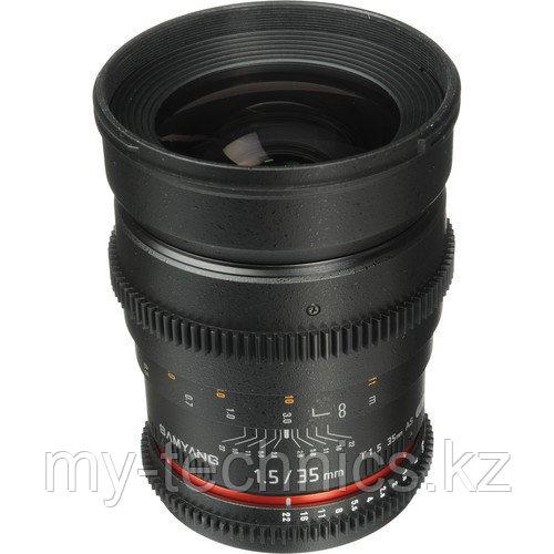 Samyang 35mm T1.5 ED AS UMC VDSLR  Sony