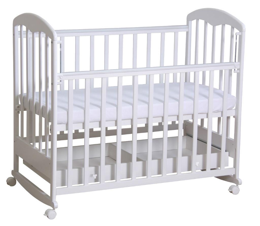 """Кровать детская Фея """"325"""" (белый)"""