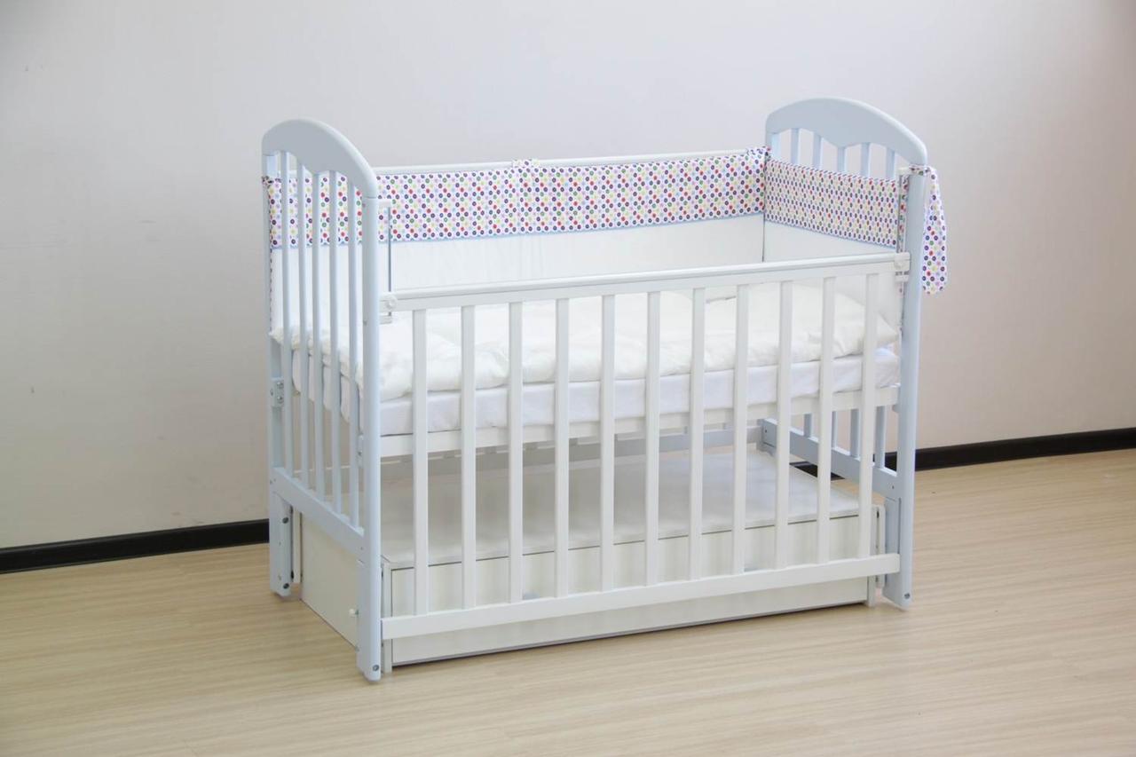 """Кровать детская Фея """"328"""", (белый)"""