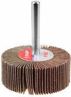 Круг шлифовальный ЗУБР веерный лепестковый, на шпильке, тип КЛО, зерно - электрокорунд нормальный 20 мм
