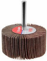Круг шлифовальный ЗУБР веерный лепестковый, на шпильке, тип КЛО, зерно - электрокорунд нормальный 30 мм