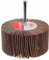 Круг шлифовальный ЗУБР веерный лепестковый, на шпильке, тип КЛО, зерно - электрокорунд нормальный 40 мм