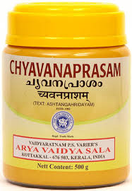 """Чаванпраш"" от компании ""Арья Вайдья Сала"", 500 грамм (Chyavanaprasam Arya Vaidya Sala)"