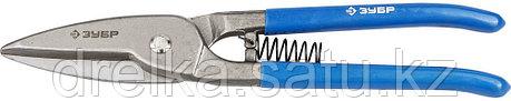 ЗУБР Ножницы по металлу цельнокованые, прямые, Cr-V, 320 мм, серия Профессионал, фото 2