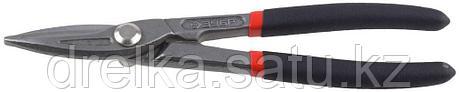 ЗУБР Ножницы по металлу цельнокованые, прямые, У8А, 250 мм, фото 2