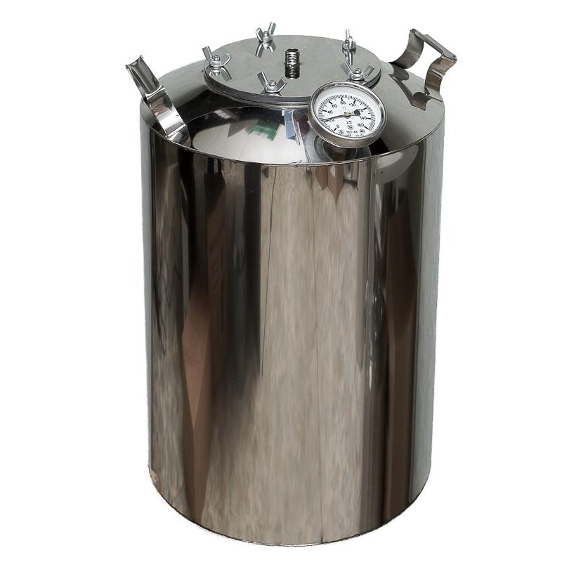 "Перегонный куб для самогонного аппарата ""Горилыч"" 20/110/t с термометром"