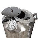 "Перегонный куб для самогонного аппарата ""Горилыч"" 30/110/t с термометром, фото 2"