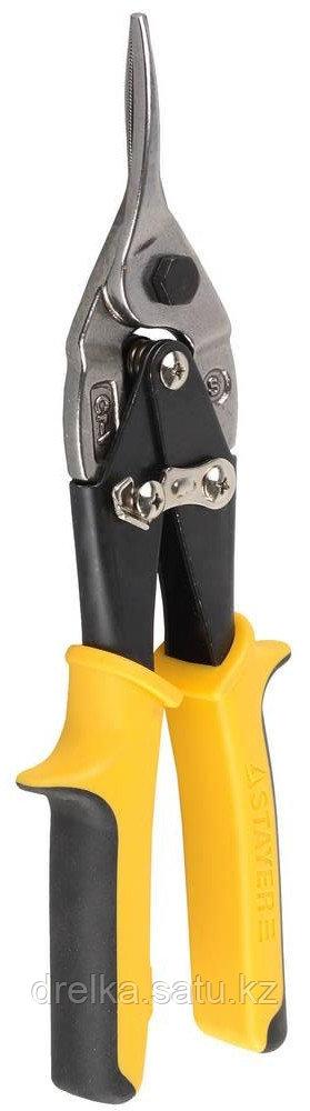STAYER Ножницы по металлу HERCULES, прямые, Cr-Mo, 250 мм, серия Professional