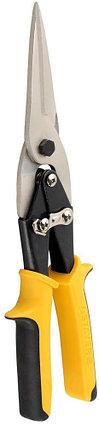 STAYER Ножницы по металлу HERCULES, прямые удлинённые, Cr-Mo, 290 мм, серия Professional, фото 2