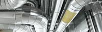 Цилиндры из минеральной ваты фольгированный для теплоизоляции, фото 1