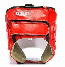 Шлем боксерский Everlast кожа, фото 3
