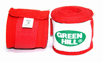 Боксерские бинт Green Hill 3м, фото 3