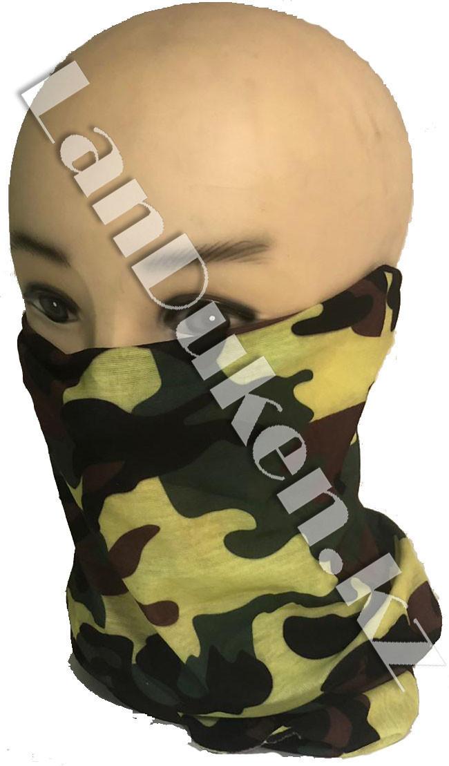 Бандана (бафф) Multi Scarf принт армейский разноцветный