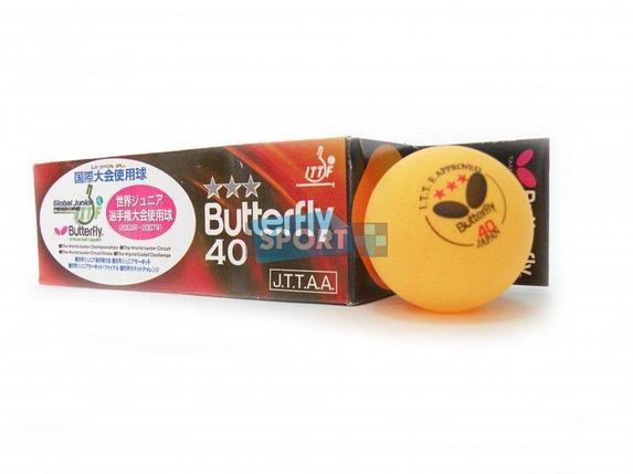 Шарики для настольного тенниса Butterfly, фото 2