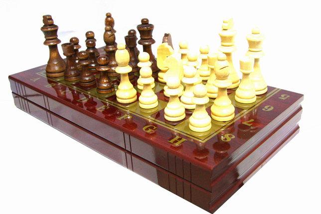 Шахматы 3в 1 (500мм х 500мм), фото 2