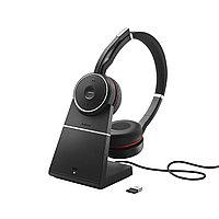 Гарнитура Jabra Evolve 75 Stereo MS, Charging stand & Link 370