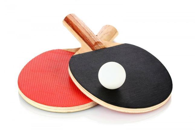 Набор ракетки настольного тенниса (2 ракетки + 3 шарик), фото 2