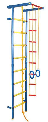 Детский спортивный комплекс пристенный 2,20м (вес не ограничен), фото 2