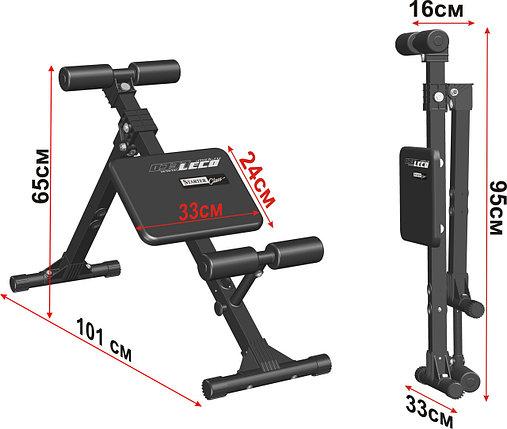 Скамья для пресса и мышц спины 100 кг Россия, фото 2