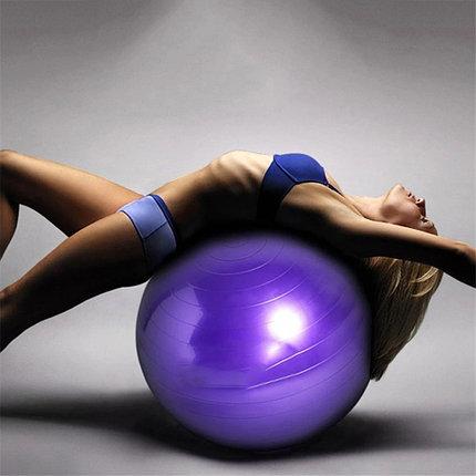 Гимнастический мяч  (Фитбол) 65 гладкий, фото 2