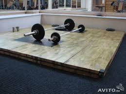 Помост тяжёлоатлетический, тренировочный 3х3х0,1 метр, фото 3
