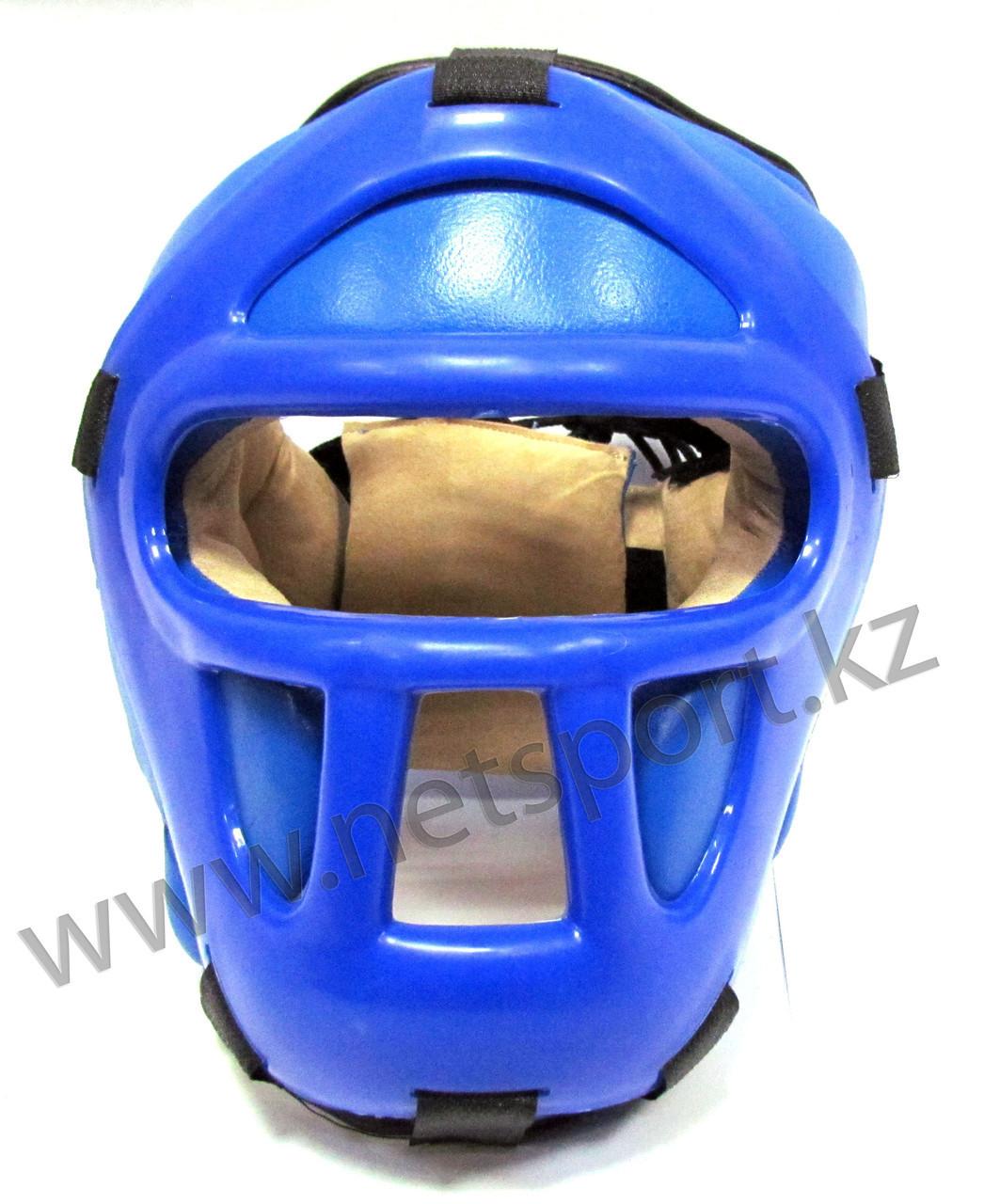 Шлем боксерский закрытый кожа