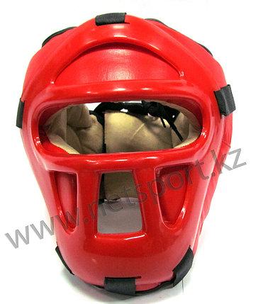 Шлем боксерский закрытый кожа, фото 2