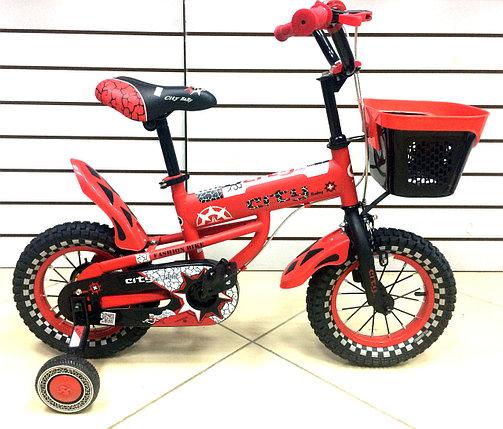 Детский велосипед City Baby 12 Red, фото 2