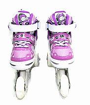 Роликовые коньки детские, фото 2