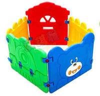 Детская площадка, заборчик