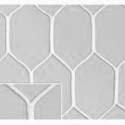 Сетка шестигранная для футбольных ворот нить D=5 мм (7,32х2,44 м), фото 2