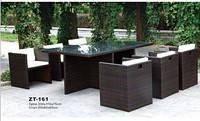Плетеная мебель стол + 8 стульев