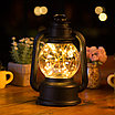 Новогодняя лампа - фонарь, фото 2