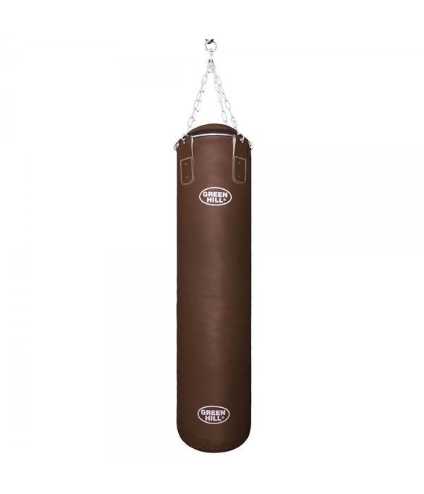 Боксерский мешок GREEN HILL оригинал кожа/зам 120 см / 35
