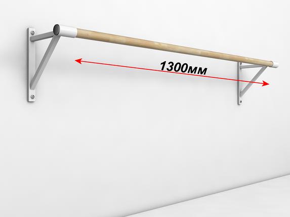 Балетный станок однорядный настенный 1м, фото 2