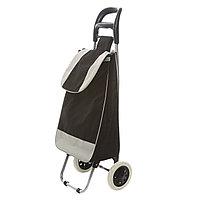Сумка на колесиках 94X35X27 см. Черно-белая.