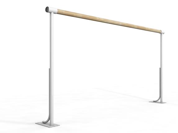 Балетный напольный однорядный  станок  4м, фото 2