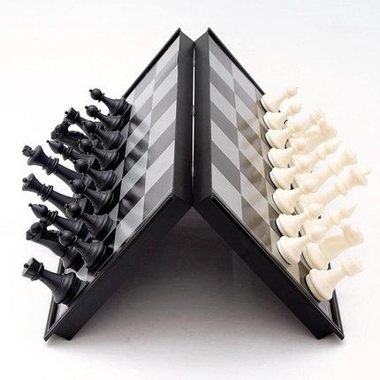Шахматы 3в 1 (34см х 34см) магнитный, фото 2