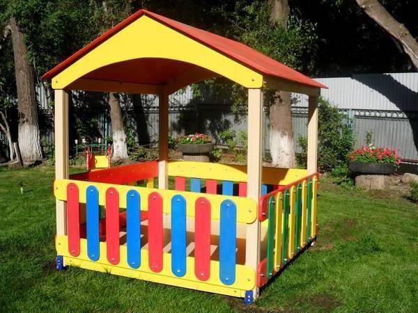 Детские беседки для дачи и детского сада
