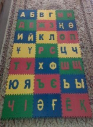 """Коврик-пазл детский """"Казахский Алфавит"""", фото 2"""