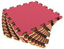 Универсальный коврик 25*25(см) желто-красный, фото 2