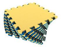 Универсальный коврик 25*25(см) желто-синий