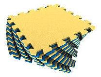 Универсальный коврик 25*25(см) желто-синий, фото 2